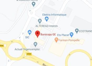 Burocopy Reims Bât C1 bis rue Alberto Santos Dumont, 51100 Reims