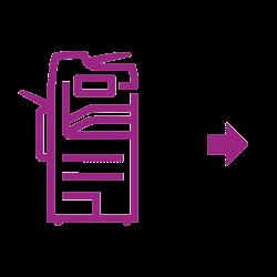 Altalink Icône violette
