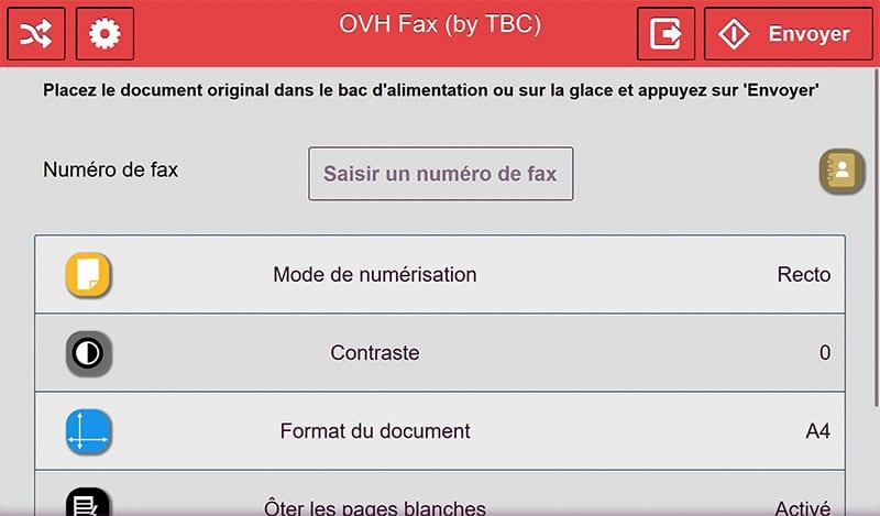 OVH Fax Pro slide 1