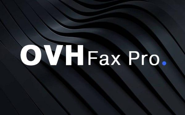 OVH Fax Pro